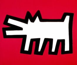 Keith Haring, Barking Dog