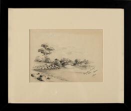 Edward Hopper, Scarboro Bridge & Lake