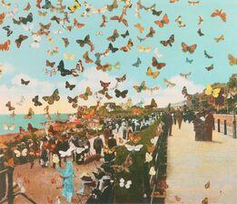 Peter Blake, Homage to Damien Hirst, Eastbourne
