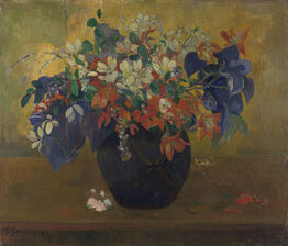 Paul Gauguin, A Vase of Flowers