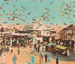 Peter Blake, Homage to Damien Hirst, Tunis