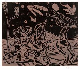 Pablo Picasso, Les Danseurs au Hibou (Dancers with an Owl)