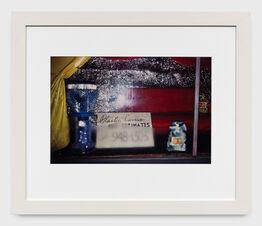William Eggleston, Untitled (Misty window 'plastic covers') from the Los Alamos Portfolio