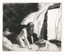 Edward Hopper, Evening Wind.
