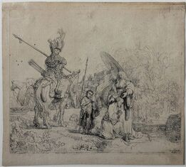 Rembrandt van Rijn, The Baptism of the Eunuch