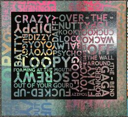 Mel Bochner, Crazy (with Background Noise)