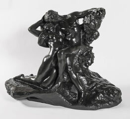 """Auguste Rodin, Eternel printemps, Second état, Première réduction, dite aussi """"réduction no.1"""""""
