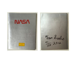 "Tom Sachs, ""NASA Playboy"" painted, signed edition"