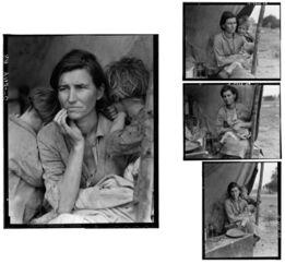 Dorothea Lange, Migrant Mother set