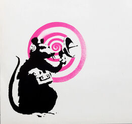 Banksy, Banksy Radar Rat vinyl record art