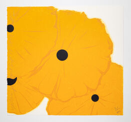 Donald Sultan, Yellow Poppies, September 12, 2013