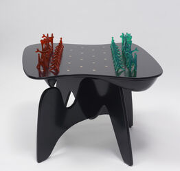 Isamu Noguchi, Chess Table and Pieces