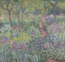 Claude Monet, The Artist's Garden in Giverny