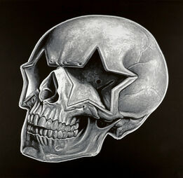 Ron English, Star Skull (Screenprint Series Number 4)