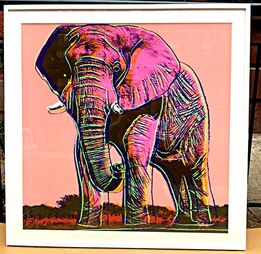 Andy Warhol, African Elephant