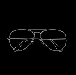 Michael Craig-Martin, Glasses