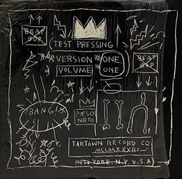 Jean-Michel Basquiat, Basquiat Beat Bop 1983 1st pressing (Original Basquiat Beat Bop)