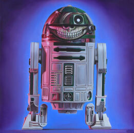 Ron English, R2D2 Grin