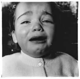 Diane Arbus, A child crying, N.J.