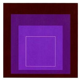 Josef Albers, White Line Squares XI Series II
