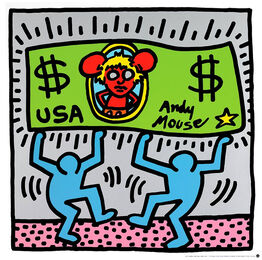 Keith Haring, Andy Mouse III