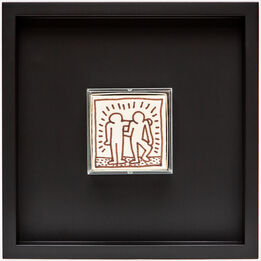 Keith Haring, Untitled ('Best Buddies' - Party of Life)