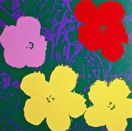 Andy Warhol, Flowers IV