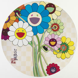 Takashi Murakami, アルジャーノンに花束を Flower for Algernon