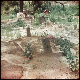 Gordon Parks, Untitled, Shady Grove, Alabama (Grave Site 37.057)