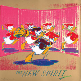 Andy Warhol, The New Spirit (Donald Duck), from Ads