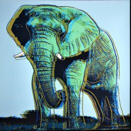 Andy Warhol, Elephant for Art Basel