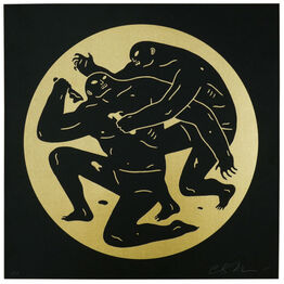 Cleon Peterson, DESTROYING THE WEAK I (GOLD)