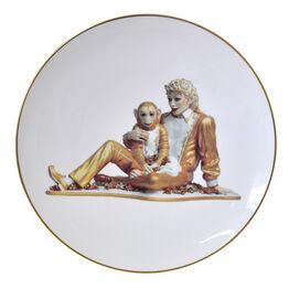 Jeff Koons, Banality Series - Box with 6 plates 16 cm