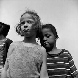 Gordon Parks, Children at Interracial Camp, Havershaw NY