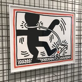 Keith Haring, Untitled 2 (Free South Africa)