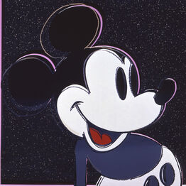 "Andy Warhol, Mickey Mouse from ""Myths"" portfolio"