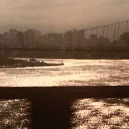 Nan Goldin, New York Skyline from Bridge