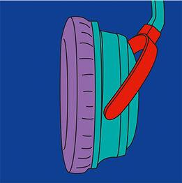 Michael Craig-Martin, Headphones (Fragment)