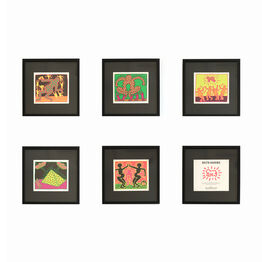 Keith Haring, The Fertility Suite (Shafrazi Gallery Promotional Cards)