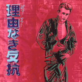 "Andy Warhol, Rebel Without a Cause (James Dean) from ""Ads"" portfolio"