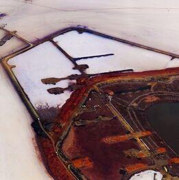 Edward Burtynsky, Silver Lake Operations #15, Lake Lefroy, Western Austrailia, 2007