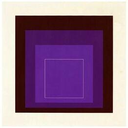 Josef Albers, White Line Squares (Series II), XI