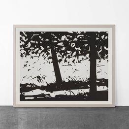 Alex Katz, Maine Woods