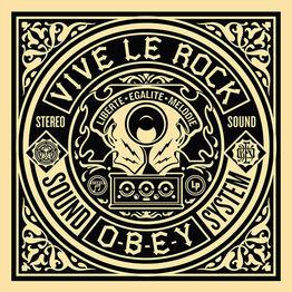 Shepard Fairey, 50 Shades of Black Box Set: Viva Le Rock