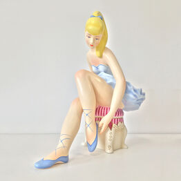 Jeff Koons, Seated Ballerina