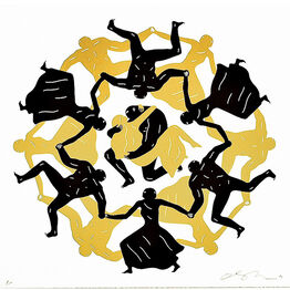 Cleon Peterson, ENDLESS SLEEP (White)