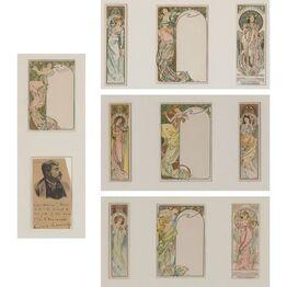 Alphonse Mucha, Moët & Chandon (Bowers/Martin 301-310)