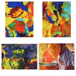 Gerhard Richter, P08-P11 (Portfolio of 4)