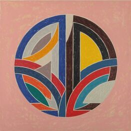 Frank Stella, Sinjerli Variation Squared with Colored Ground III
