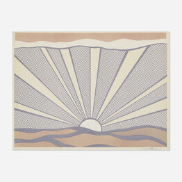 Roy Lichtenstein, Sunrise